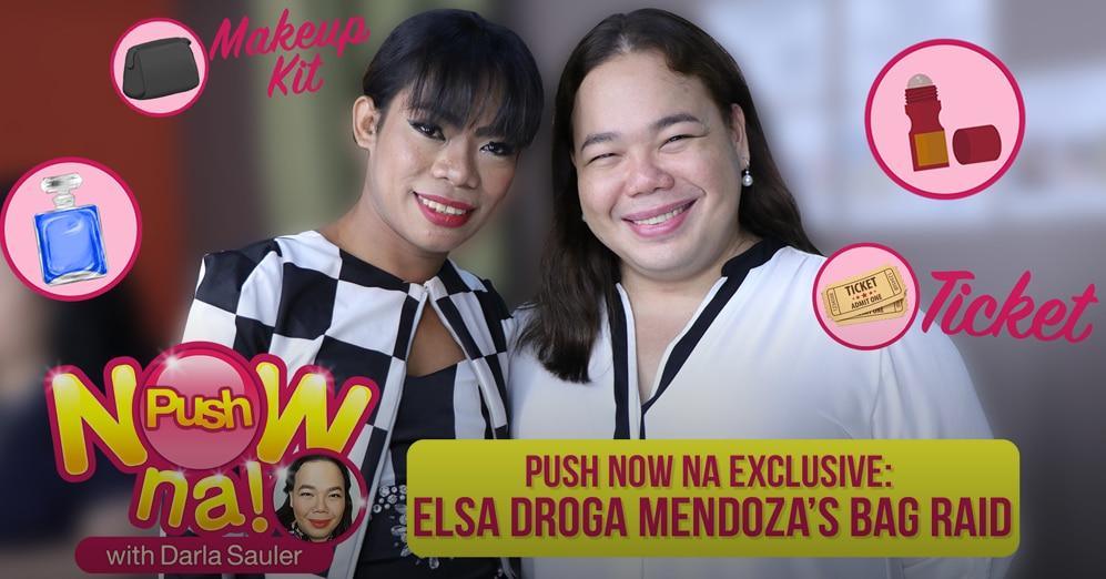 Push Now Na Exclusive: Elsa Droga's bag raid