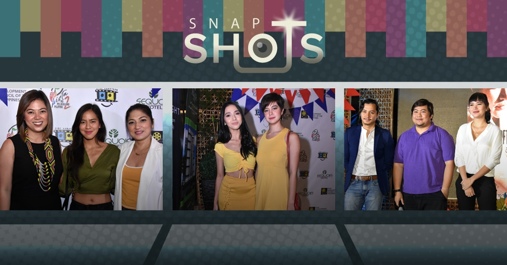 PHOTOS: Celebrities to participate in the Pista ng Pelikulang Pilipino 2018