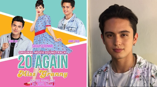 James Reid is excited for his upcoming film with Sarah Geronimo