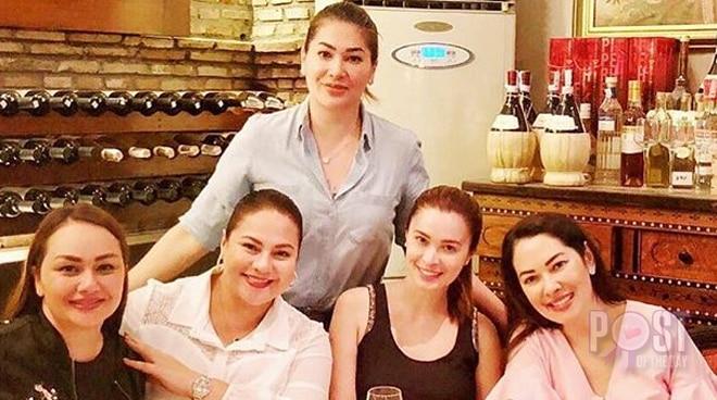 '90s Regal babies Karla Estrada, Jackie Forster, Sunshine Cruz, Donita Rose and Ruffa Gutierrez reunite