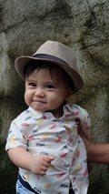 Meet Jon Lucas' adorable angel Baby Brycen