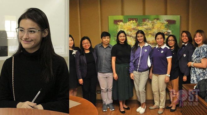 Liza Soberano is officially a college student
