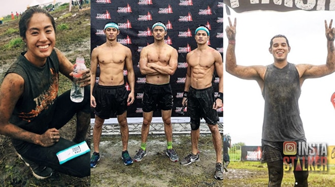 LOOK: Pinoy celebrities conquer international obstacle course