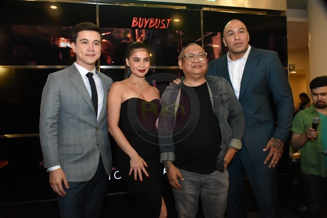 Directed by Erik Matti, BuyBust stars Anne Curtis, Brandon Vera and Arjo Atayde.