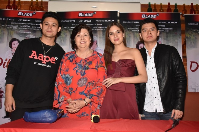 Meet the cast of Dito Lang Ako movie