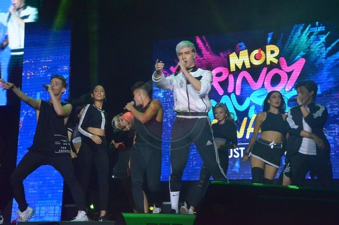 Here are some of the highlights of this year's MOR Pinoy Music Awards.