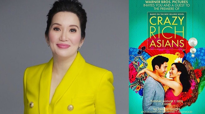 Kris Aquino gets an invitation to the Hollywood premiere of 'Crazy Rich Asians'