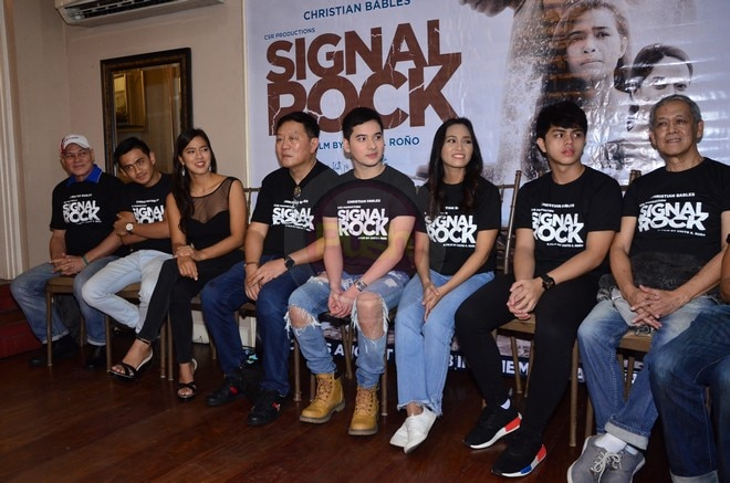 Signal Rock is an entry to the 2018 Pista ng Pelikulang Pilipino, to show on Aug. 15-21 in cinemas.