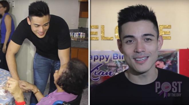 WATCH: Xian Lim celebrates his birthday with the elderly