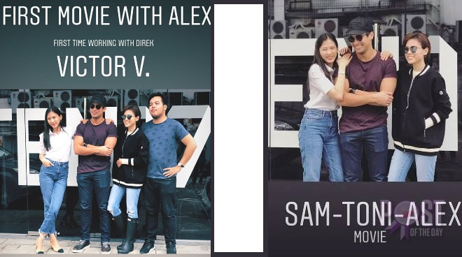 Toni and Alex Gonzaga team up with Sam Milby for new movie