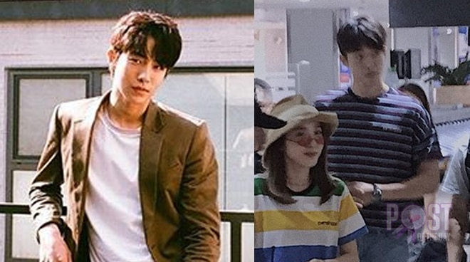 LOOK: Nam Joo Hyuk arrives in Manila