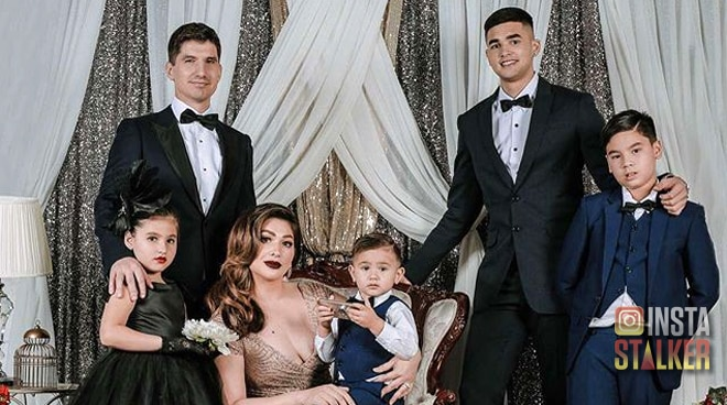LOOK: Kobe Paras joins Jackie Forster's family pictorial