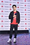 James Reid endorses new smartphone of mobile brand Huawei.