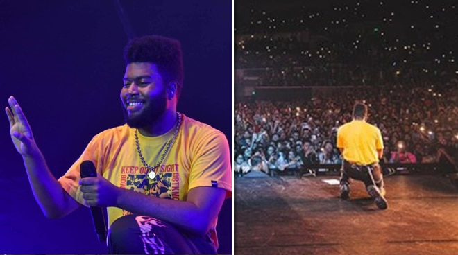 American singer Khalid to Pinoy fans: 'Thank you for all the love and making me feel as if I live here'