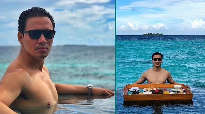 LOOK: Erik Santos's first time in Maldives