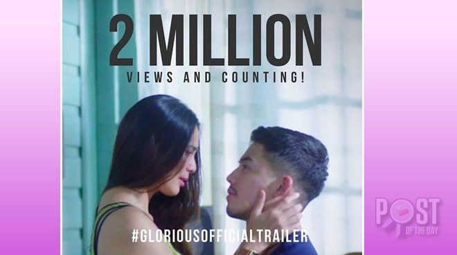 WATCH: Teaser of Tony Labrusca and Angel Aquino's 'Glorious' reach 2M views