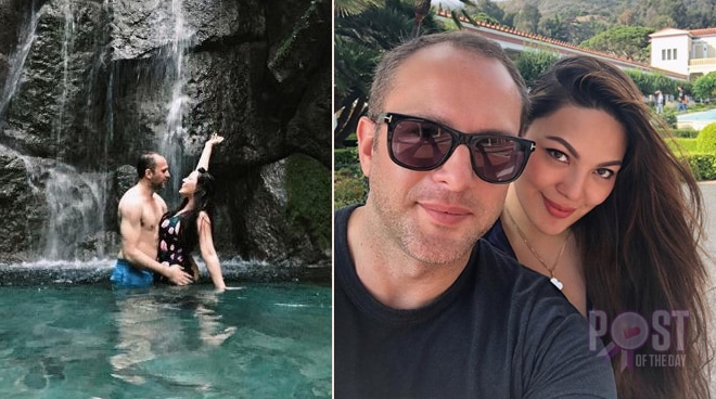 LOOK: KC Concepcion's French boyfriend is in the Philippines