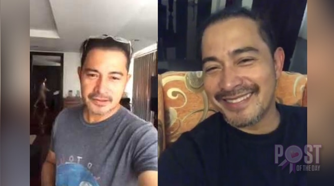 Cesar Montano pokes fun at himself, spoofs viral video
