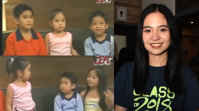 THROWBACK: Sharlene San Pedro gets candid with fellow 'Goin' Bulilit' kids