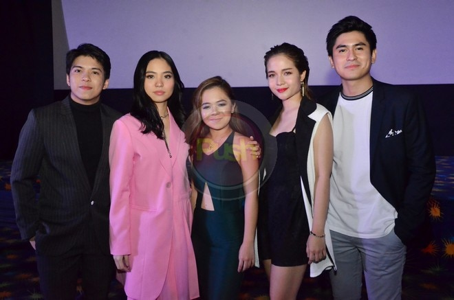 Class of 2018 stars former Goin Bulilit kids CJ Navato, Kristel Fulgar and Kiray Celis.