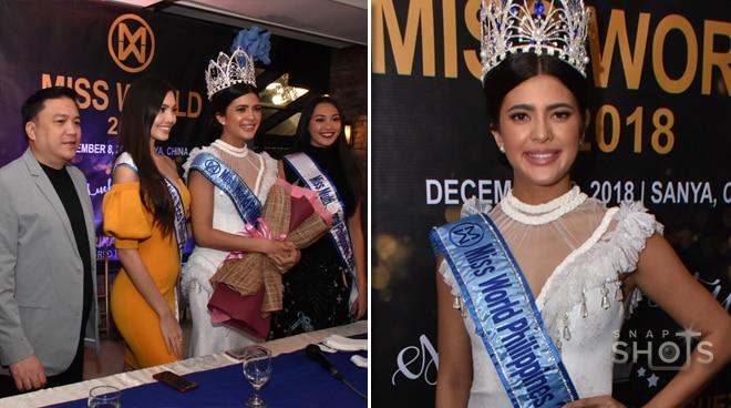LOOK: Beautiful Katarina Rodriguez at the Miss World send-off presscon