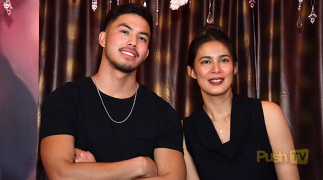 'Glorious' stars Angel Aquino and Tony Labrusca, all praises for each other