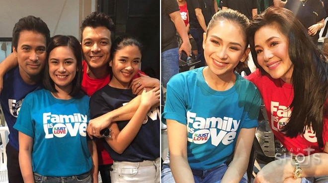 LOOK: 400 stars light up ABS-CBN's Christmas Station ID
