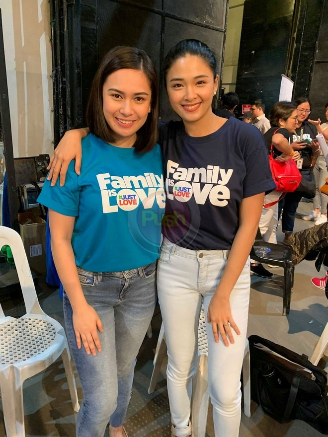 Yen Santos and Yam Concepcion