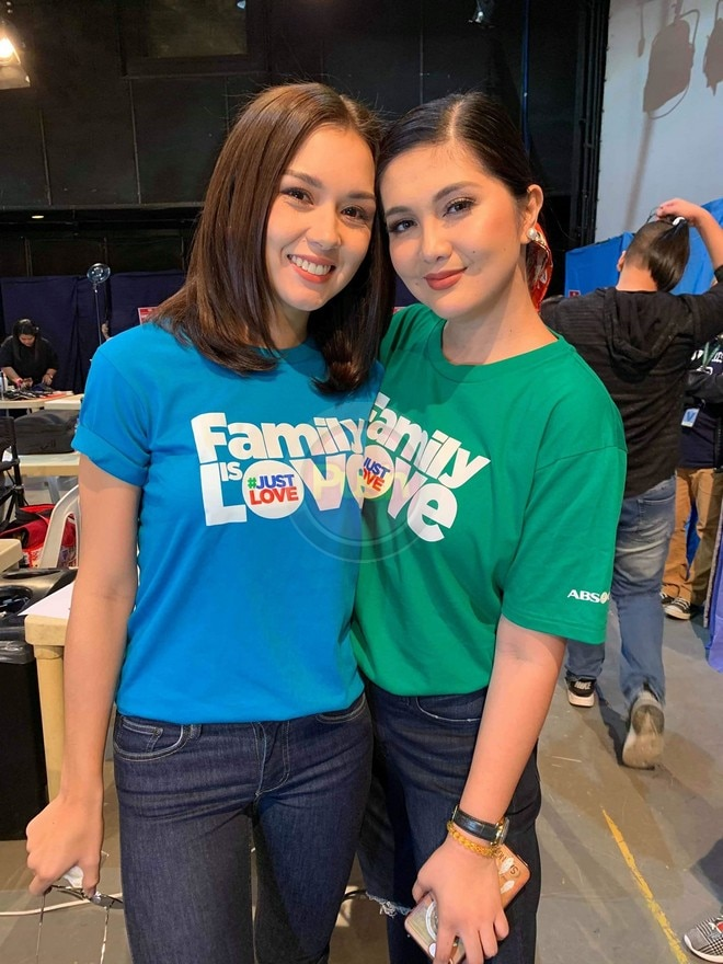 Beauty Gonzalez and Dimples Romana