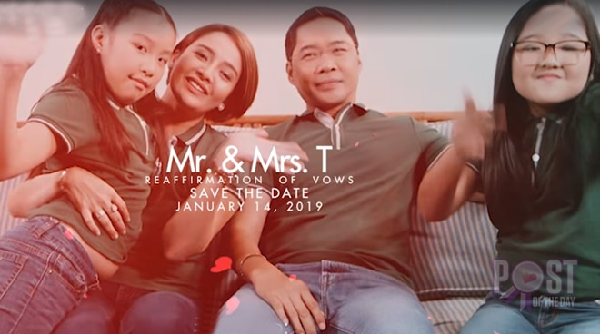 WATCH: Anthony Taberna's sweet 'save the date' video