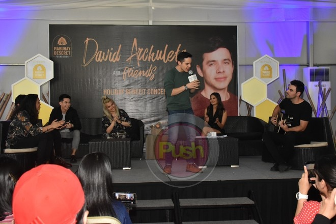 David Archuleta and Friends' concert will be on Nov. 16 at the New Frontier Theater.