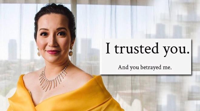 "Kris Aquino sends message to Nicko Falcis: ""Tinuring ka naming pamilya"""