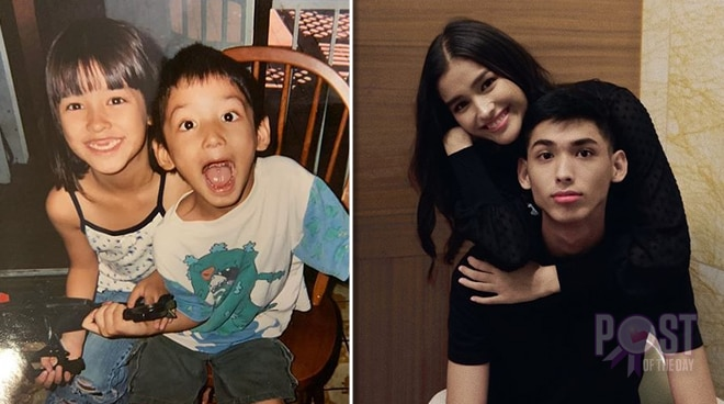 Cute! Liza Soberano posts childhood photo with her brother