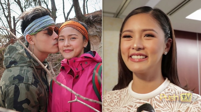 Kim Chiu shares how happy she is with her relationship with Xian Lim