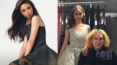 LOOK: Photos from Maymay Entrata's fittings for Arab Fashion Week