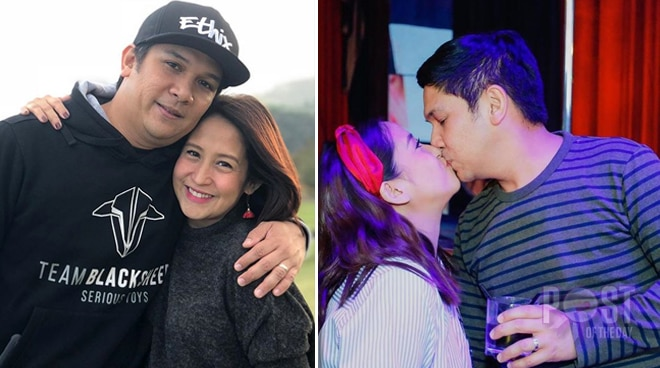 Jolina Magdangal celebrates 7th wedding anniversary with husband Mark Escueta