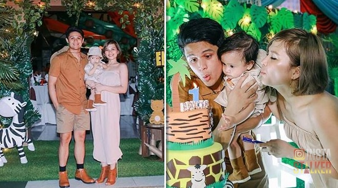 LOOK: Jon Lucas' son Brycen celebrates his 1st birthday with a fun safari-themed party