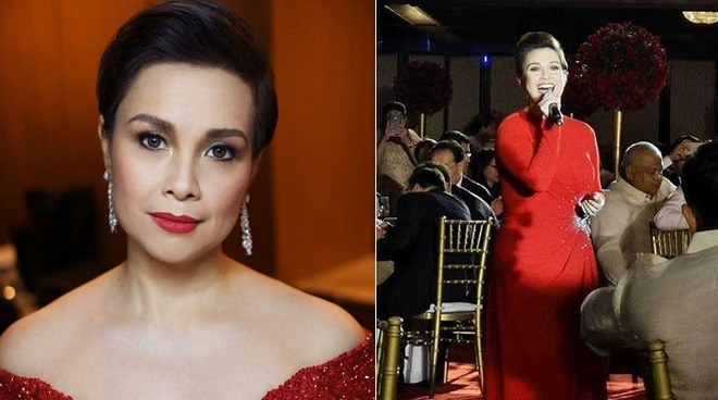 Lea Salonga performs at President Xi Jinping's state dinner visit