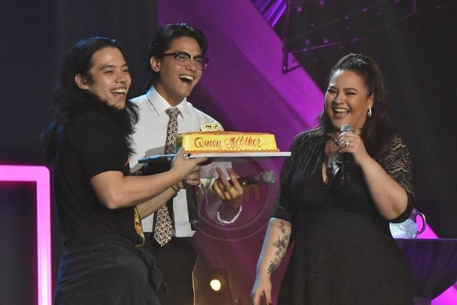 Karla Estrada performed with family members at her digital birthday concert last November 21.