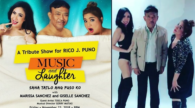 Marissa Sanchez at Giselle Sanchez, itutuloy ang Rico J. Puno concert bilang tribute show
