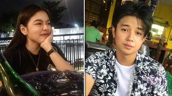 Is this Yves Flores' girlfriend?