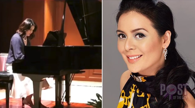 WATCH: Dawn Zulueta amazes netizens with her piano cover of a Beethoven piece