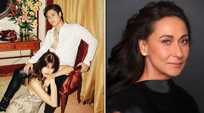 Cherie Gil leaves a comment on LizQuen's photo, points out to keep up more with the times