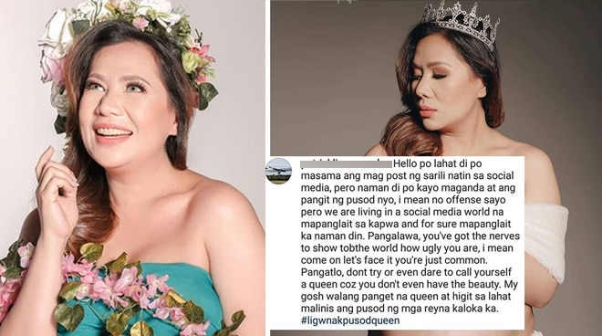 Radio DJ Nicole Hyala reacts to a netizen's body-shaming comment