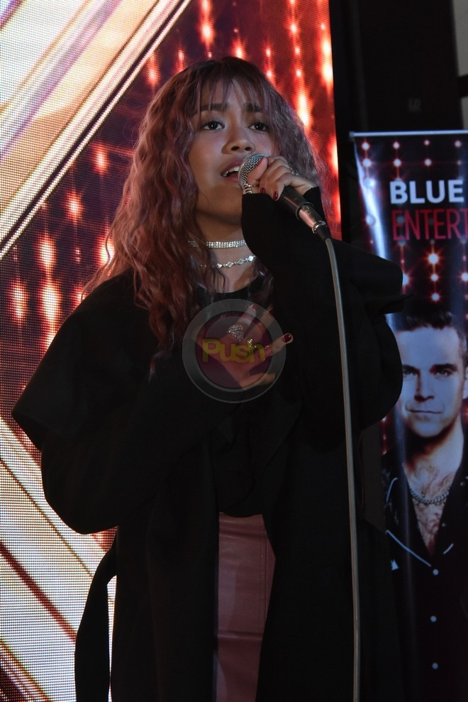 Maria Laroco is back in the Philippines after joining X Factor UK.