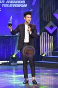 Jerome Ponce at the 32nd PMPC Star Awards for TV