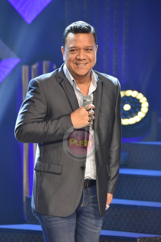 Mitoy Yunting at the 32nd PMPC Star Awards for TV