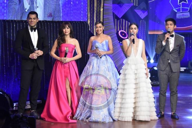 Kapamilya stars at the 32nd PMPC Star Awards for TV