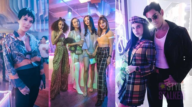 LOOK: Celebrities parade their OOTD at Anne Curtis' epic '90s-themed party