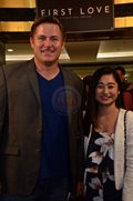 Lee O'Brian and Mae Subong at the First Love Movie Premiere last October 16.
